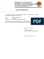 Surat Keterangan Lulus TOEFL