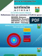 Definiciones Clave Que Sustentan El Perfil de Egreso - IEI 32447 - Cascanga
