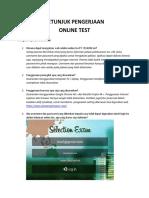 PETUNJUK PENGERJAAN APLIKASI ONLINE TEST PT TELKOM.pdf