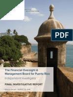 FOMB - Final Investigative Report - Kobre & Kim - JCF  INFORME FINAL INVESTIGACION DE LA DEUDA