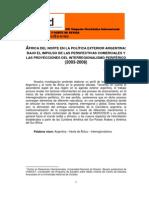 Juan Jose Vagni Africa Del Norte en La Politica Exterior Argentina[1]