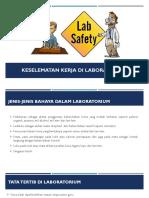 Keselematan Kerja Di Laboratorium