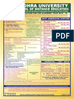 Admission Poster AUDE