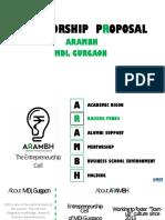 sponsorship pitch