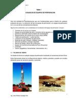 Tema 1 de Perforacion Petrolera II