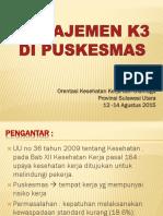 Manajemen K3 Puskesmas.pptx