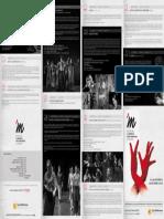 II Festival de Flamenco del Mediterráneo. Programa. Fundación Caja Mediterráneo