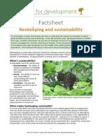 3 Factsheet Bekeeping and Sustainability
