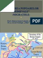 0 Prezentare Formarea Popoarelor Medievale Etnogeneza Rom. Clasa Aixa