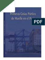 Primeras Gruas Portico de Muelle en El Peru