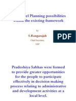Local Level Planning Possibilities Within the Existing Frame [Compatibility M