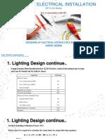 Electrical Installation-Sample Design Lighting