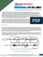 Fiber Optic Components for Ytterbium Doped Mode Locked Fiber Laser Applications