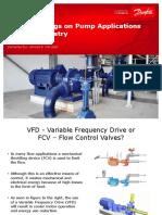 Energy Savings of Pump Applications_General Industry