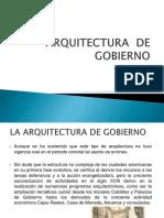 Historia III arquitectura de gobierno