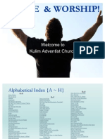Christian Songs Powerpoint