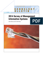2014 Survey of Management Information Systems