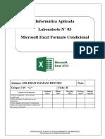 Lab 03 - Formato Condicional