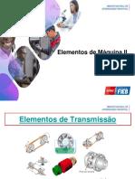 Elementos de Transmissão 2018