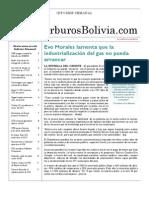 Hidrocarburos Bolivia Informe Semanal Del 27 Sep Al 3 Oct 2010