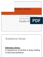 Nursing 5 Substance Misuse