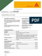Ficha Técnica 13000 Sikaflex Universal