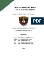 Silabo Doc. Policial II