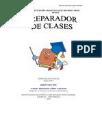 PREPARADOR DE CLASES BIOLOGIA 6°