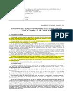 2015 Panorama Del Derecho Comercial en El Nuevo Código Civil y Comercial de La Nación