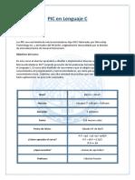 Syllabus de PIC en C 1