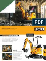 JCB 8008 8010 Micro Excavator