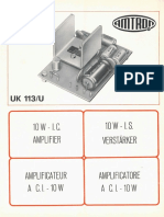 Amtron UK113U - Amplificatore a c.i. - 10 W.pdf