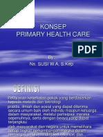 Konsep Primary Health Care