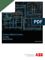 3BSE041880-600 en System 800xA Control 6.0 AC 800M Getting Started