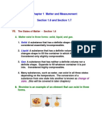 Chem1010 Chapter 1 Lecture Section 1.6 and Section 1.7