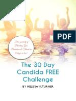 30 day Candida Challenge