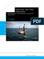 Modern jackups and their dynamic behaviour