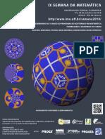 Cartaz Semana da Matemática 2018