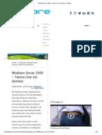 Windows Server 2008 – Vamos Criar Um Domínio - Pplware