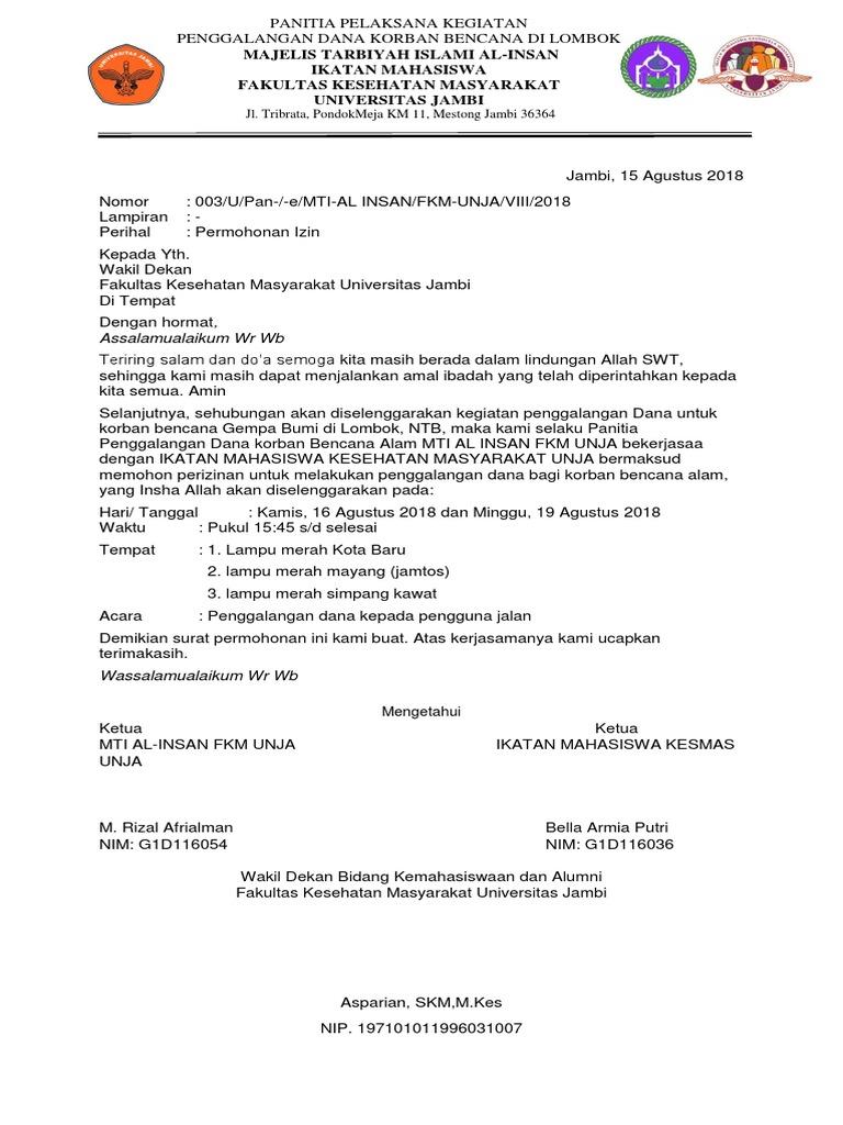 Surat Permohonan Izin Docx