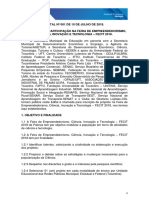 1 a Edital Chamada FECIT 2018
