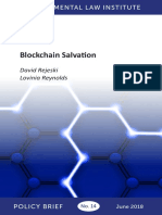 Blockchain Salvation