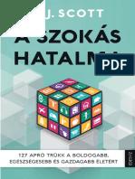 S.J.SCOTT - A SZOKÁS HATALMA