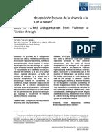 Casado La sangre en la desaparicion forzada.pdf