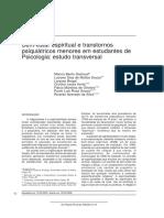 GASTAUD - Bem-estar espiritual e transtornos menores em estudantes de psicologia.pdf