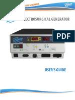 BOVIE® IDS-300 User manual Electrovistuti