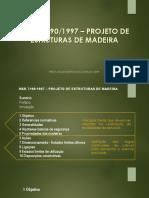Nbr 7190_97 - Projeto de Estruturas de Madeira