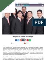 Www Buenamusica Com Caribenos de Guadalupe Biografia