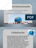 NI-1 Globalización de Los Mercados