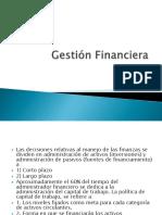 4. Gestión Financiera